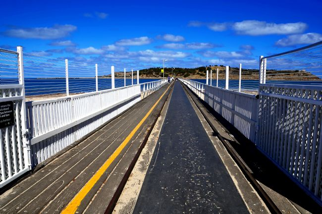 Kaye Menner | The Causeway - Victor Harbor, South Australia