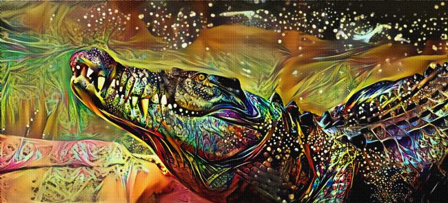 Kaye Menner | Crocodile Art