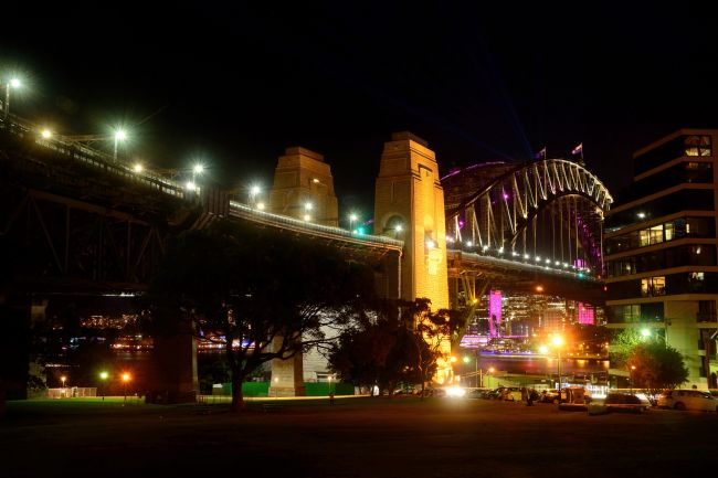 Kaye Menner | Northern View Sydney Harbour Bridge