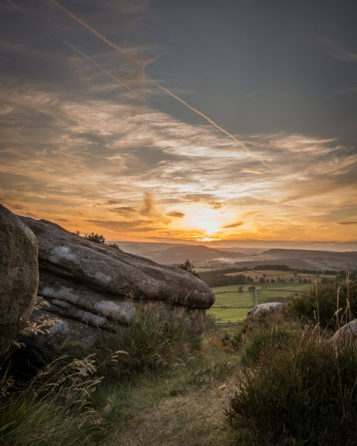 Jeni Harney | Sunset over the Derwent Valley in the Peak District