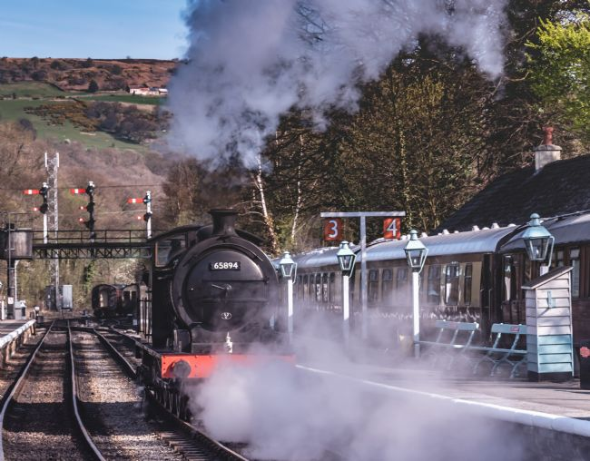 David Hollingworth | J27 at Grosmont Station