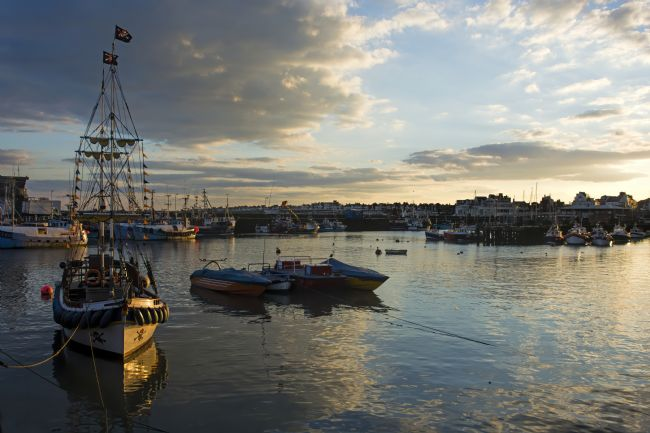 David Hollingworth | Bridlington Harbour Sunset