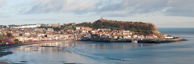 David Hollingworth | Scarborough on a Winter Day
