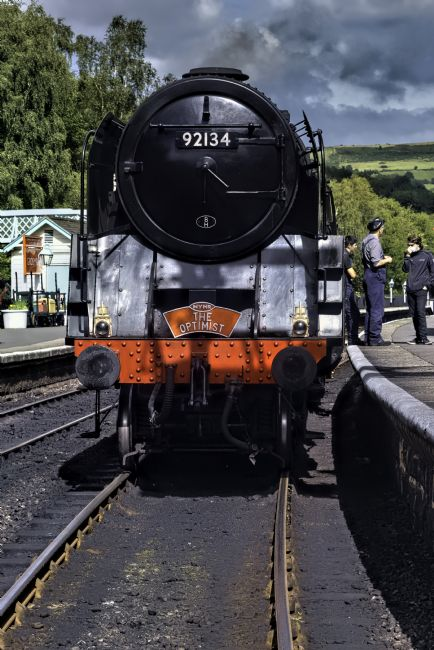 David Hollingworth | 9f at Grosmont