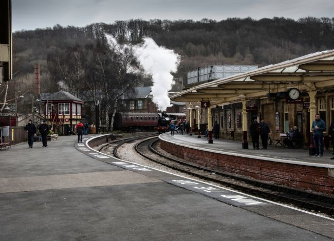 David Hollingworth | Keighley Railway Station