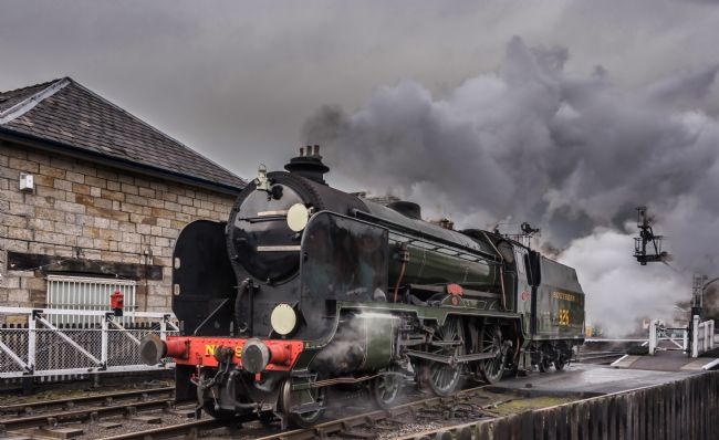 David Hollingworth | Steam Locomotive Repton