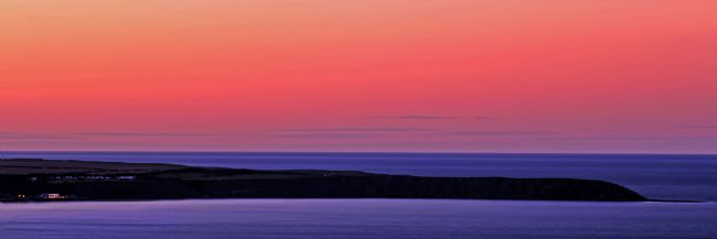 David Hollingworth | Wonderfull Sunset over Filey Brigg