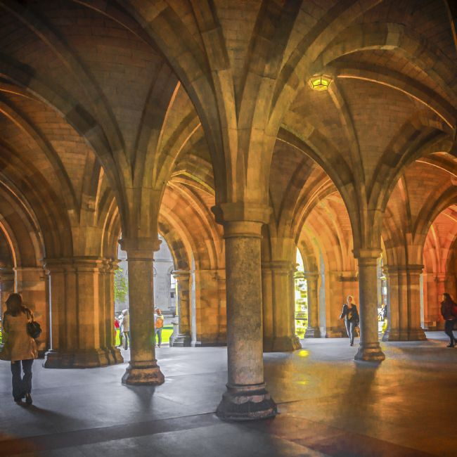 Cyndy Duff | Glasgow University Cloisters