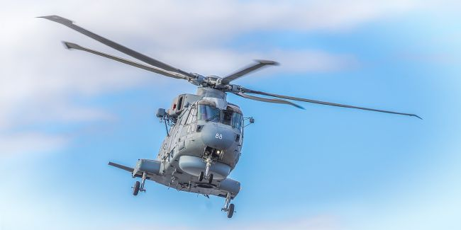 Cyndy Duff | Royal Navy Helicopter