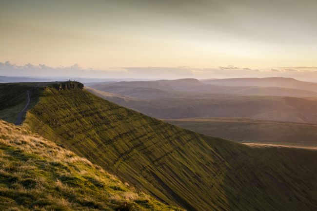 Glenn Porter | Evening View of Corn Du, Brecon Beacons