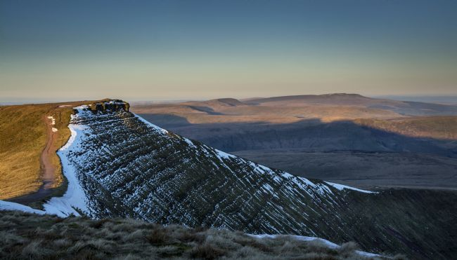 Glenn Porter | Early morning looking at Corn Du, Brecon Beacons
