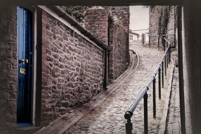 Susan Tinsley | Welsh cobbled street
