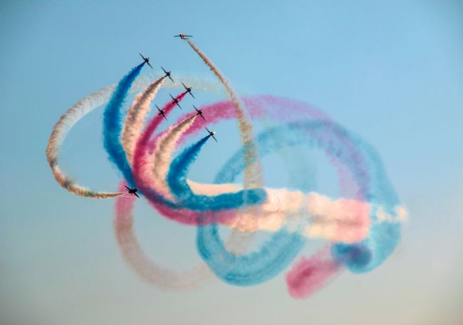 Susan Tinsley | Smoking Red Arrows