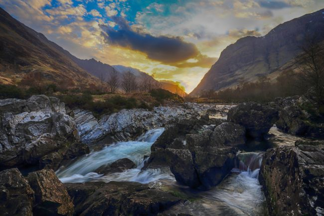 Ceri Jones | Glen Coe at sunrise