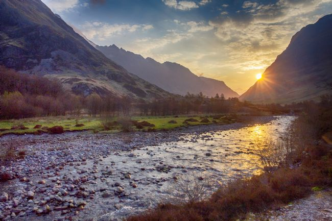 Ceri Jones | River Coe at sunrise