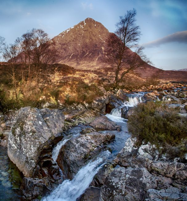Ceri Jones | Etive Mor Waterfall