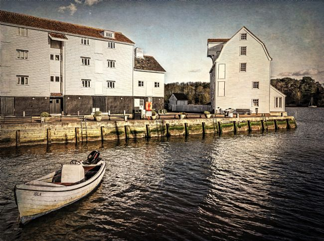 Ian Lewis | Woodbridge Tide Mill And Quayside