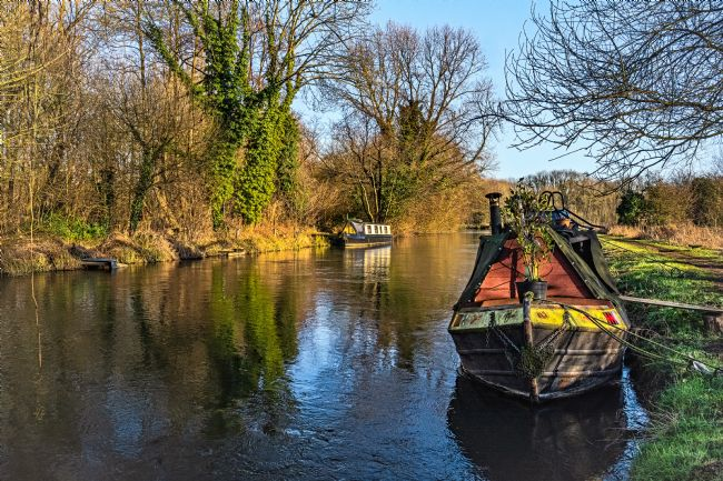 Ian Lewis | Narrowboats At Woolhampton