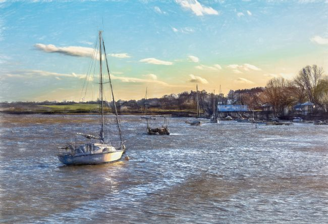 Ian Lewis | Late Afternoon On The Deben