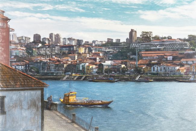 Ian Lewis | Sightseeing Boat in Porto