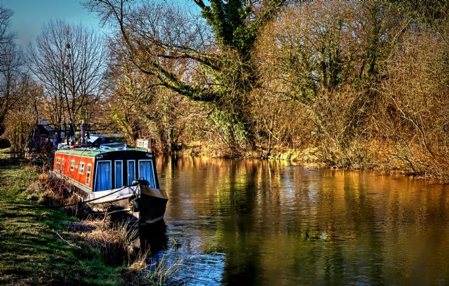 Ian Lewis | The Kennet In January Sunshine