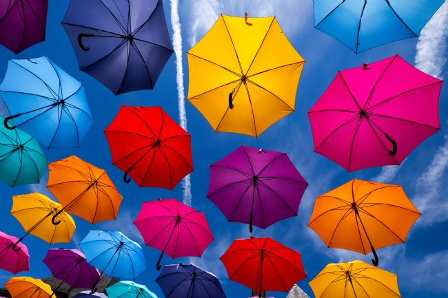 Peter O'Reilly | Flying Umbrellas I