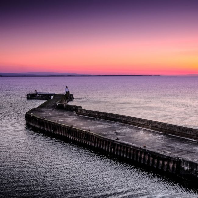 Peter O'Reilly | Twilight, Burghead Harbour