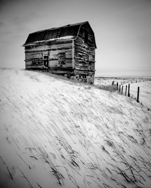 Peter O'Reilly | Dutch Barn in Winter