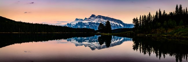 Peter O'Reilly | Twilight, Two Jack Lake