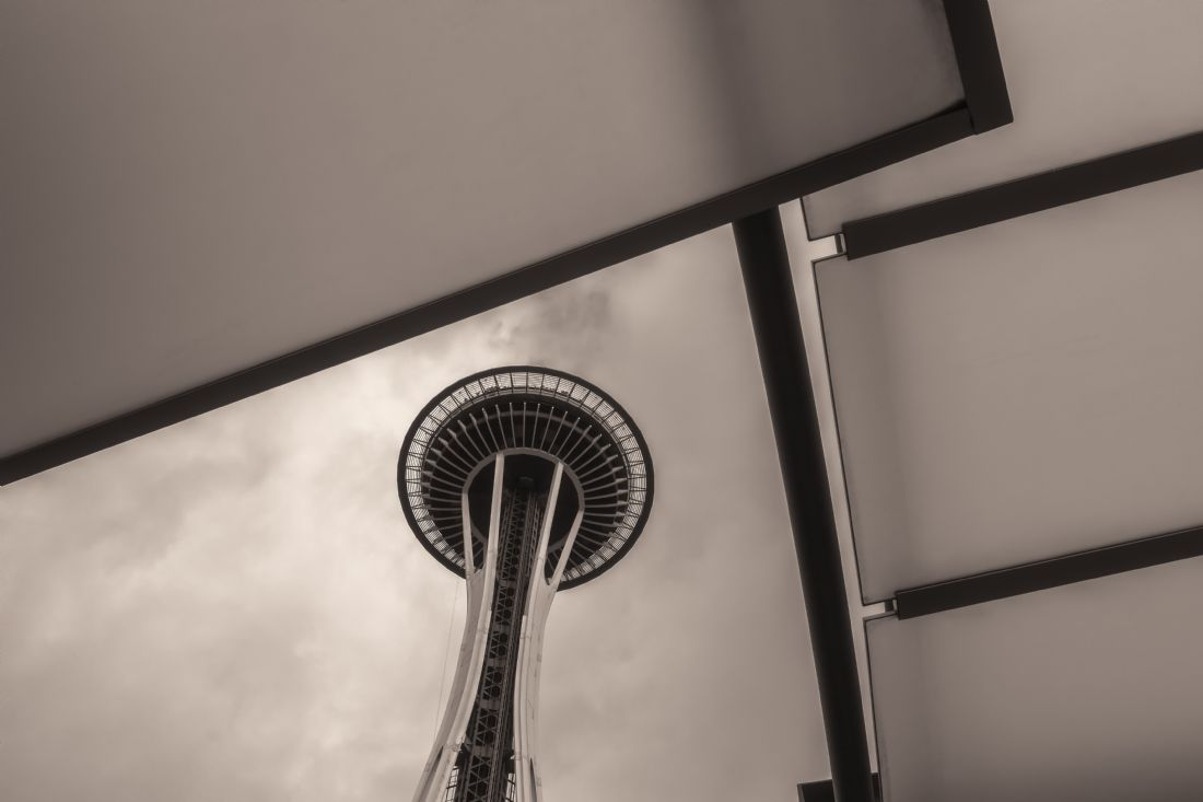 jonathan nguyen | space needle sepia