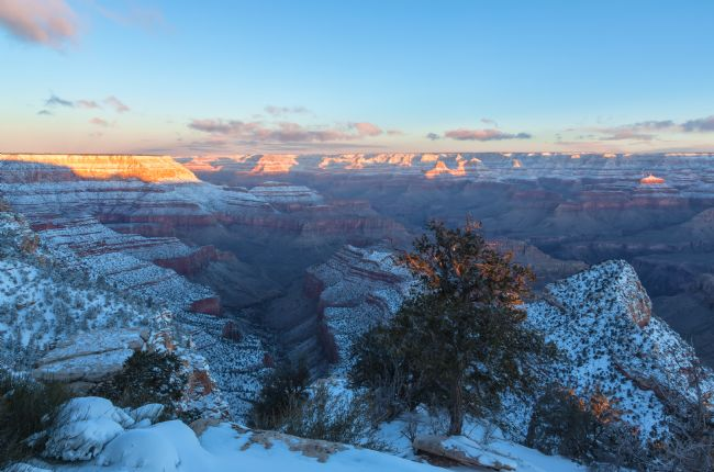 jonathan nguyen | grand canyon winter