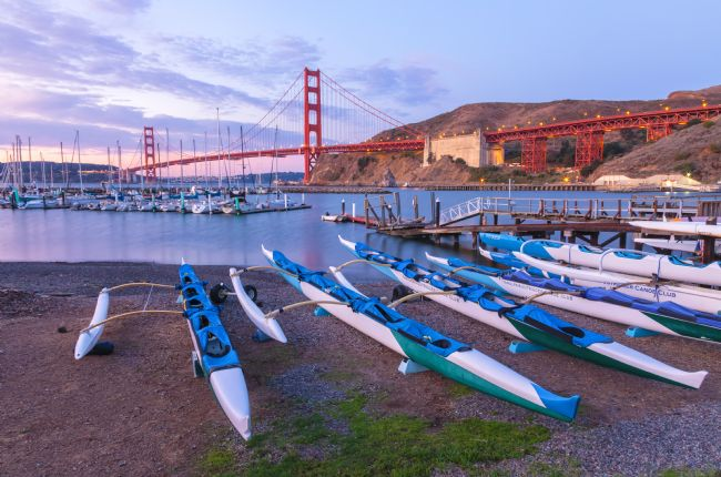 jonathan nguyen | canoes and the golden gate