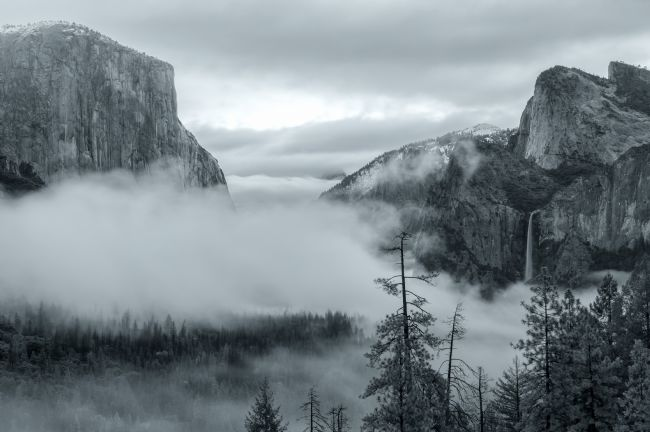 jonathan nguyen | tunnel view bw