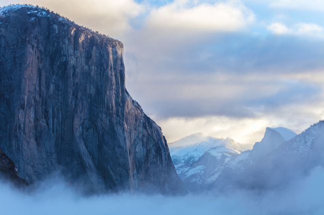 jonathan nguyen | el capitan with fog