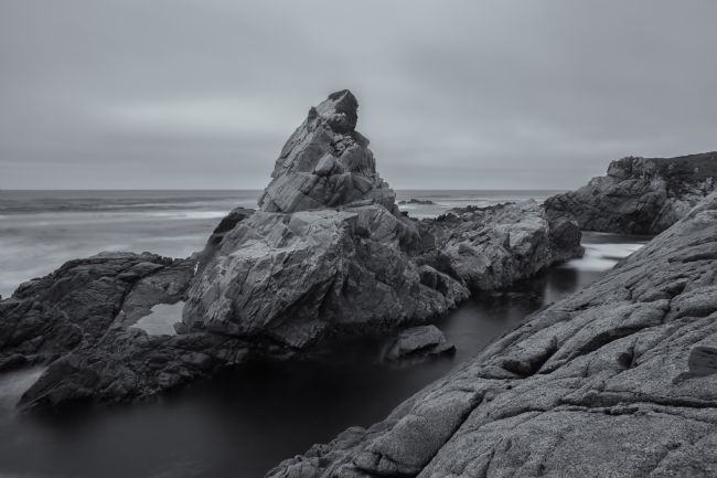jonathan nguyen | California coast in monochrome 2