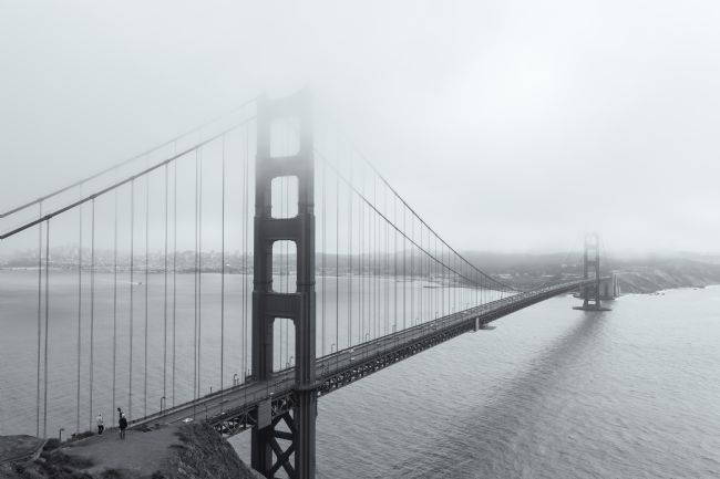 jonathan nguyen | Golden Gate Bridge in Monochrome