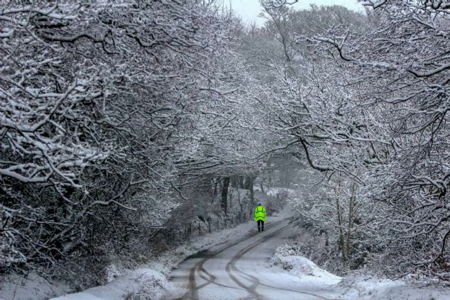tammy mellor | snowy day in staffordshire