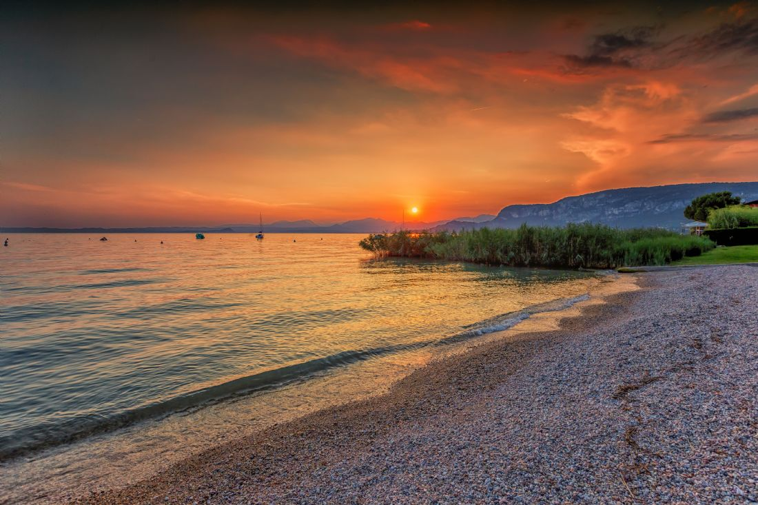 Brian Fagan | Lake Garda sunset