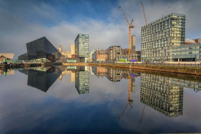 Brian Fagan | Liverpool skyline
