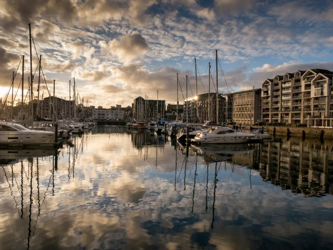 Jon Rendle | Sutton Harbour Reflections