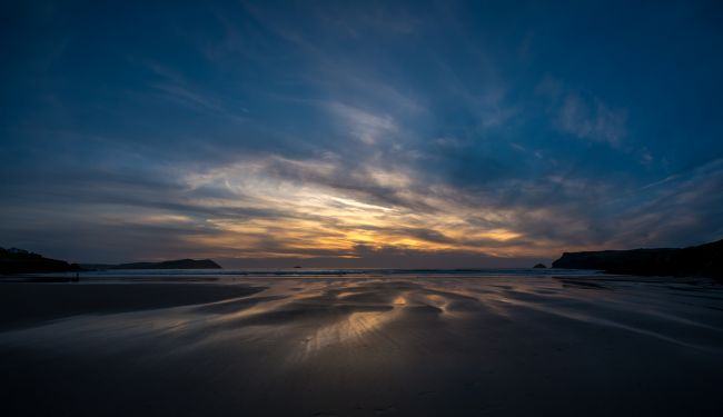 Jon Rendle | Polzeath Beach Sunset