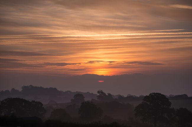 Jon Rendle | Misty Morning Sunrise