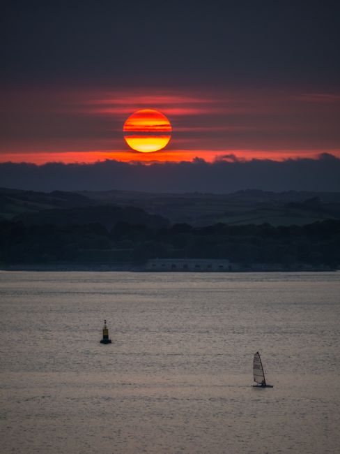 Jon Rendle | Sunset Sailing Plymouth Sound