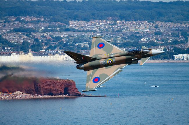Ken Brannen | Typhoon Gina at Dawlish air show