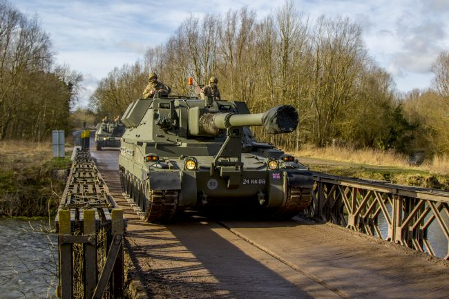 Ken Brannen | AS90 Self Propelled Gun