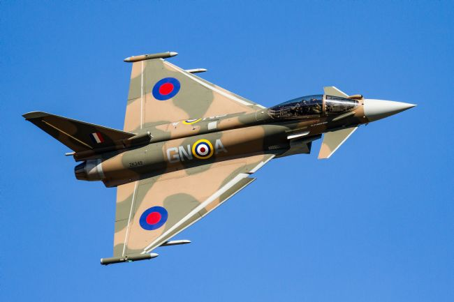 Ken Brannen |  Battle of Britain Eurofighter Typhoon