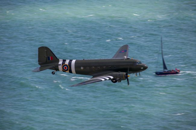 Ken Brannen | DC3 Dakota off Beachy Head