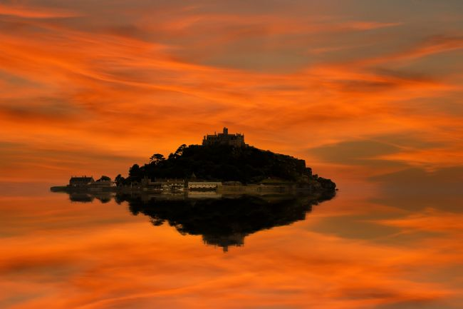 Ken Brannen | St Michaels Mount reflected 2