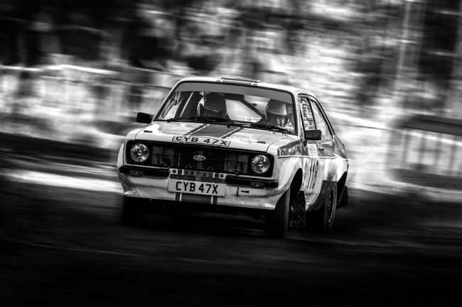 Ken Brannen | Ford Escort Mk2 rally car