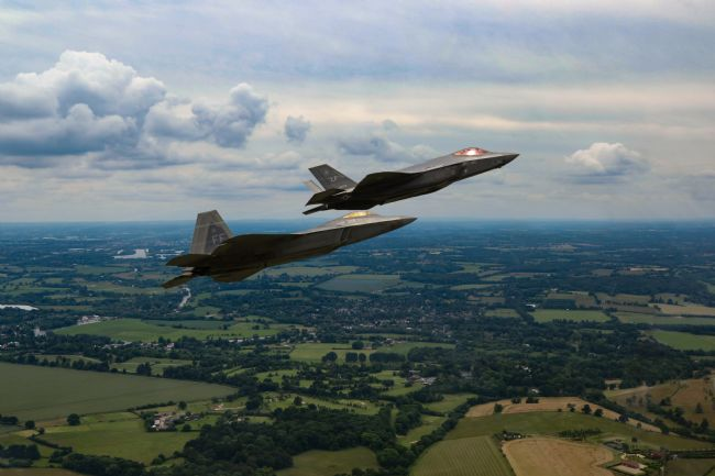 Ken Brannen | F22 and F35 RIAT